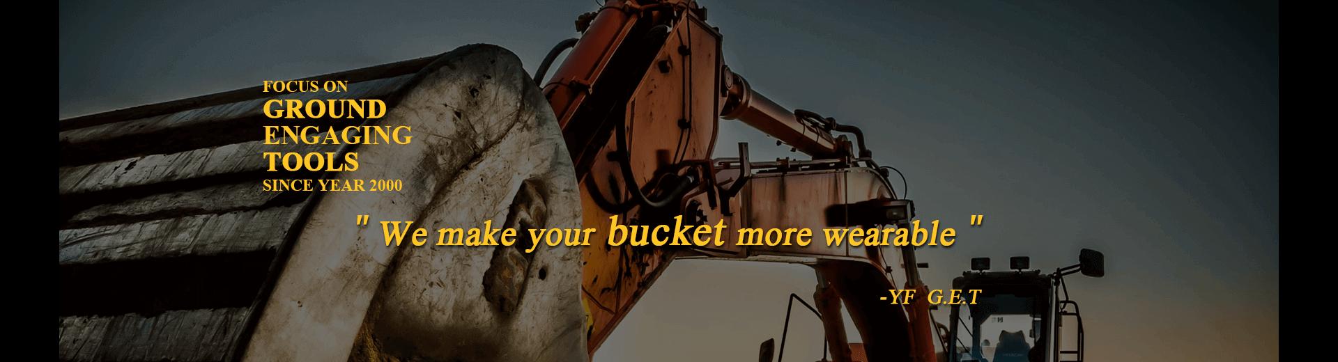 Bucket Teeth, Bucket Adapters & Rippers