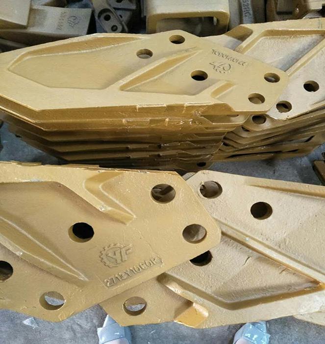 Daewoo DH220 Five Holes Side Cutter 2713Y1059L/2713Y1060R