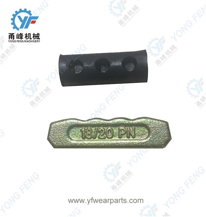 YF Tooth Pin 18-20PN and Rubber Lock 18LK