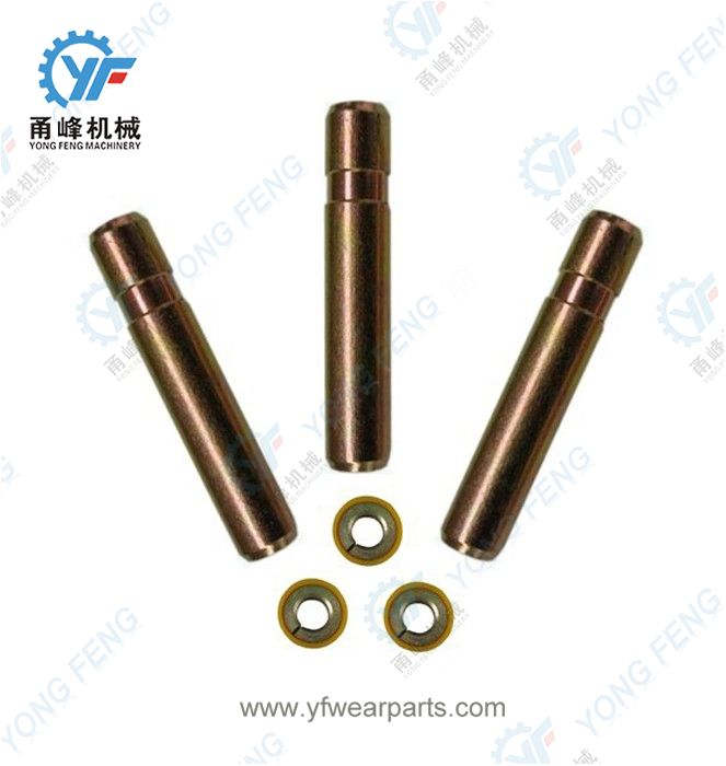 Hyundai R200 Tooth Pin E161-3035 and Retainer 61E5-11150
