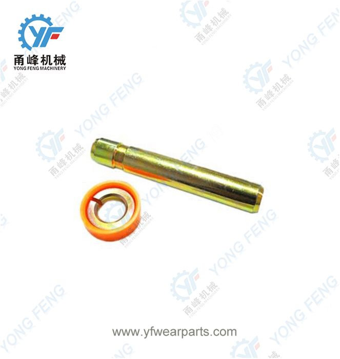 Hyundai R140 Tooth Pin 66N4-30350 and Retainer 66N4-11150