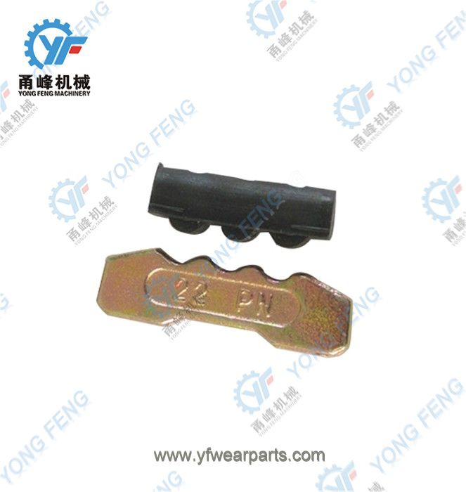 YF Tooth Pin 22PN and Rubber Lock 22LK