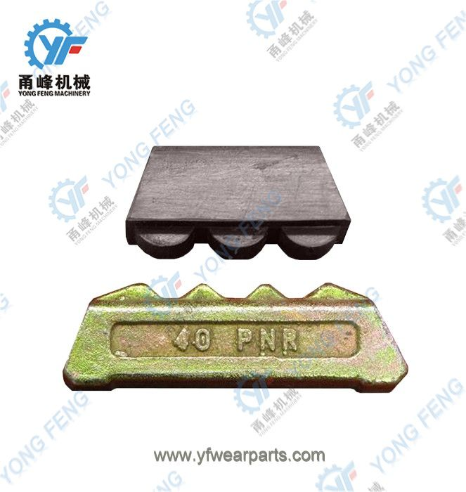 YF Tooth Pin 40PN and Rubber Lock 35-40LK