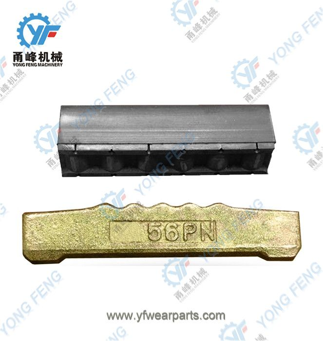YF Tooth Pin 56PN and Rubber Lock 56LK