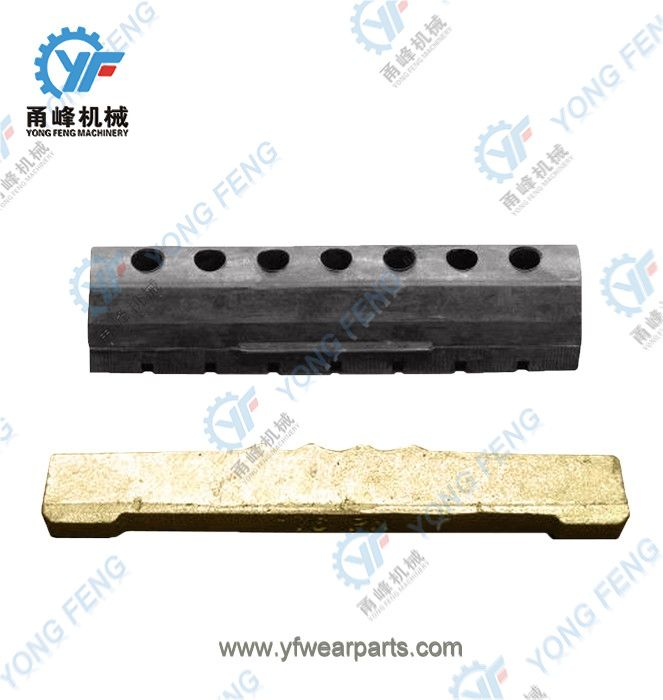 YF Tooth Pin 76PN and Rubber Lock 76LK